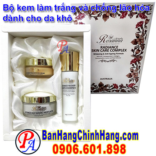 Rosanna Natural Active Ingredients Radirance Skin Care Complex