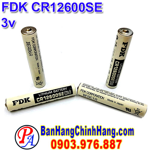FDK CR12600SE 3V Lithium Battery