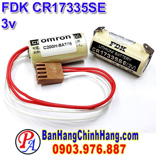 FDK CR17335SE 3V Lithium Battery