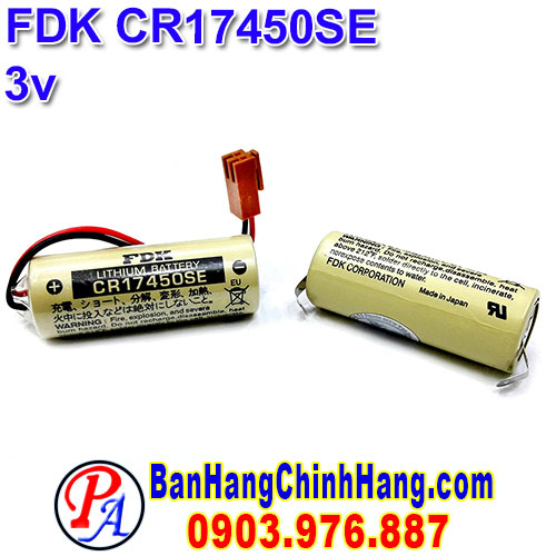 FDK CR17450SE 3V Lithium Battery