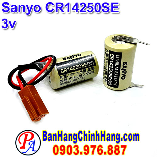 Sanyo  CR14250SE 3V Lithium Battery