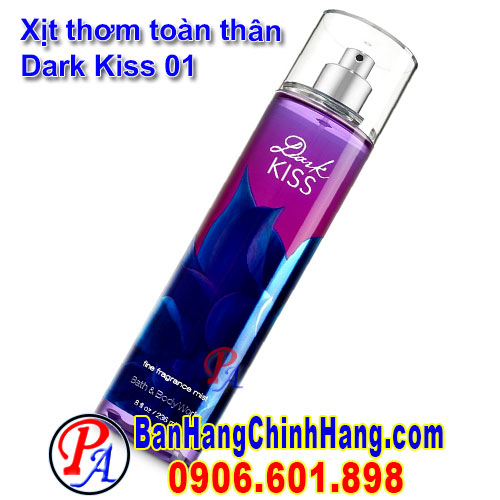 Xịt Thơm Toàn Thân Bath & Body Works Dark Kiss Fine Fragrance Mist