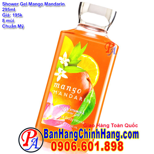 Gel Tắm Bath & Body Works Mango Mandarin Shower Gel