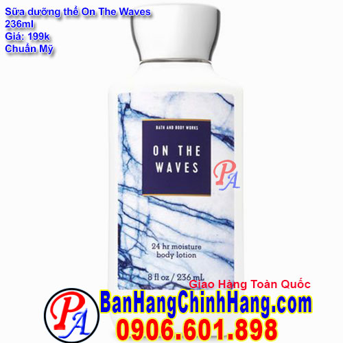 Sữa Dưỡng Thể Bath & Body Works On The Waves Body Lotion